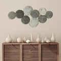 Stratton Home Decor Modern Monochromatic Metal Plates Centerpiece Wall Decor