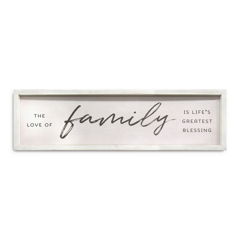 Stratton Home Decor Family is Life's Greatest Blessings Wall Art