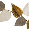 Stratton Home Decor Multi Metallic Leaves Centerpiece Wall Decor