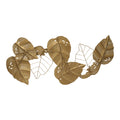 Stratton Home Decor Metal Gold Leaves Centerpiece Wall Decor