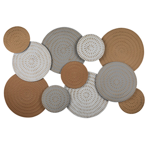 Stratton Home Decor Phoenix Metal Disc Centerpiece Wall Decor