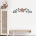 Stratton Home Decor Sydney Floral Over the Door Wall Decor