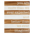 Stratton Home Decor Better than Imagined Wood Wall Art