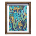 Stratton Home Decor Jaguar Printed Framed Art