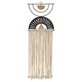 Stratton Home Decor Macrame with Metal Art Wall Decor