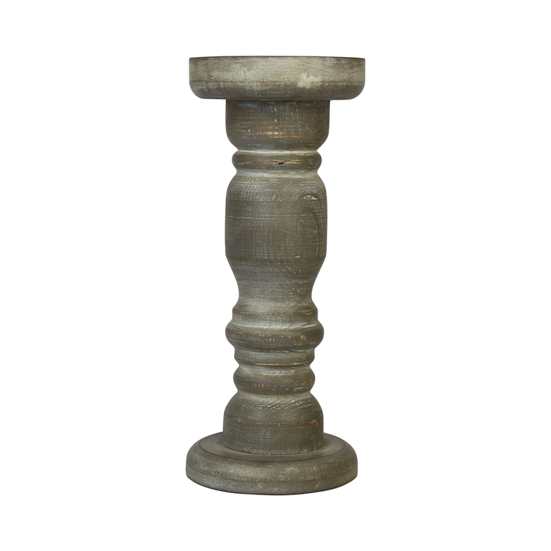 Stratton Home Decor Tall Rustic Candle Holder