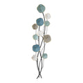 Stratton Home Decor Flower and Stem Metal Wall Decor