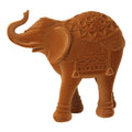 Stratton Home Decor Velvet Elephant Tabletop Sculpture