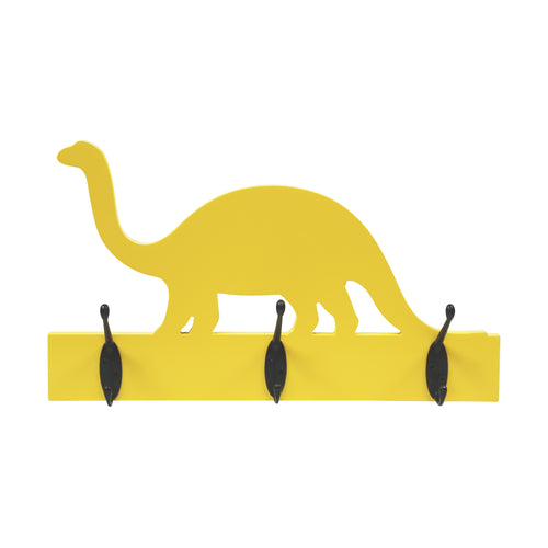 Stratton Home Decor Yellow Dinosaur Hook