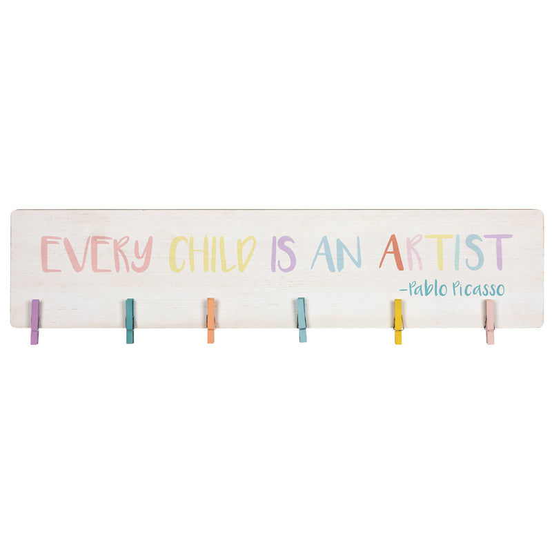 Stratton Home Decor Every Child is an Artist Photo Holder Wall Decor
