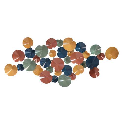 Stratton Home Decor Pop of Color Abstract Centerpiece Wall Art