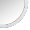 Stratton Home Decor Jane White Wash Wood Wall Mirror
