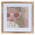 Stratton Home Decor Pretty Lady Framed Wall Art