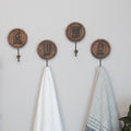 Stratton Home Decor Set of 4 Laundry Room Hooks