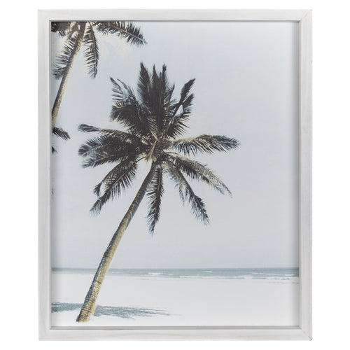 Stratton Home Decor Framed Palm Tree Wall Art