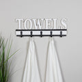 Stratton Home Decor Towels Wall Hooks
