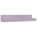 Stratton Home Decor Light Purple Floating Wall Shelf