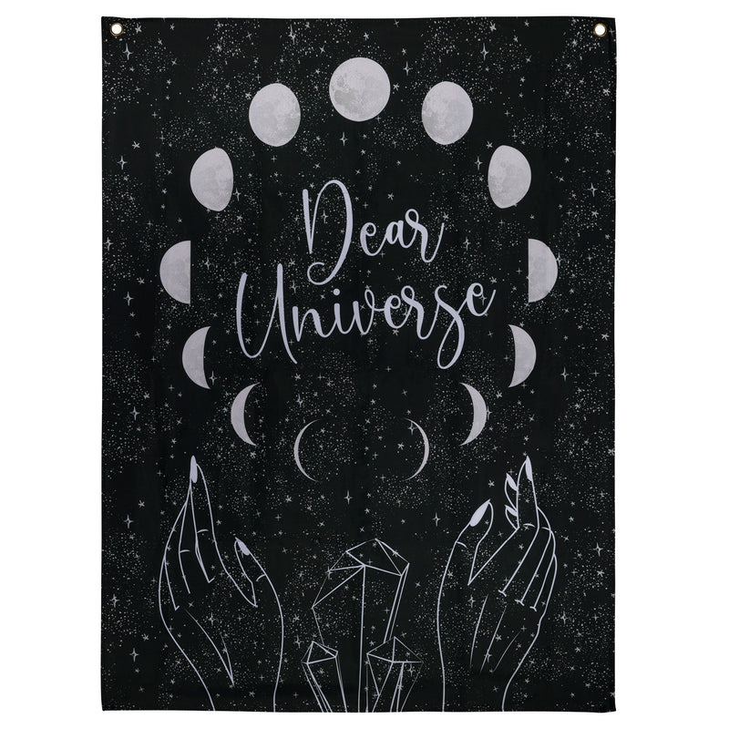 Stratton Home Decor Dear Universe Moon Wall Tapestry