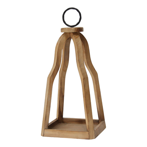 Stratton Home Decor Open Wood Lantern
