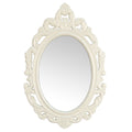 White Baroque Mirror