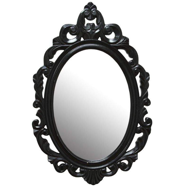 Black Baroque Mirror