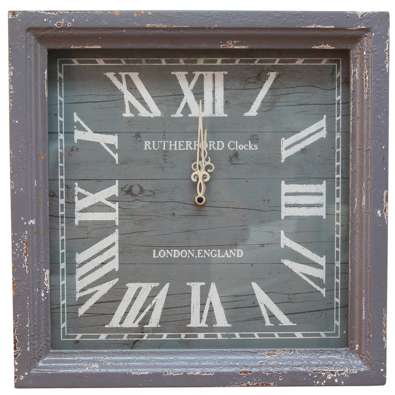 "14"" Distressed Wall Clock"