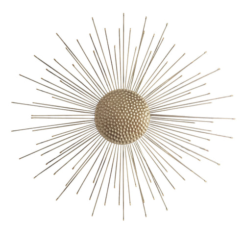 Gold Burst Wall Décor
