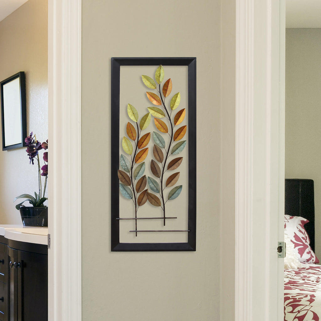 Flowing Autumn Tree Panel Wall D Cor Stratton Home Decor