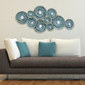 Decorative Waves Metal Wall Décor