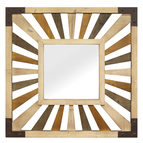 Gigi Wood Mirror