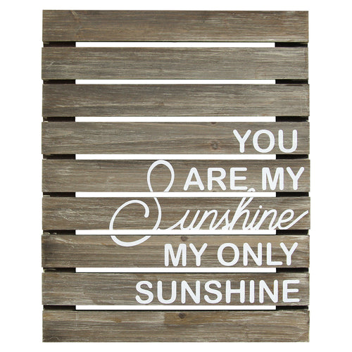 You Are My Sunshine Plank Wood Wall Art