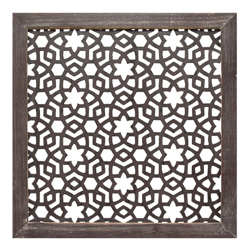 Framed Laser-Cut Wall Décor (1pc)