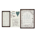 Love is Forever Wall Art (5pc)