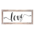 Stratton Home Décor Love Wall Art
