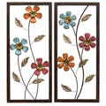 Floral Panel Wall Décor
