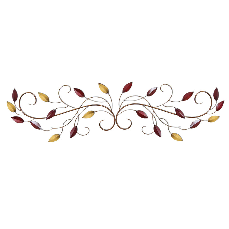 Stratton Home Décor Multi Scroll Leaves Wall Décor
