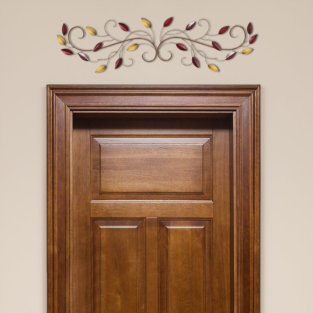 Stratton Home D Cor Multi Scroll Leaves Wall D Cor