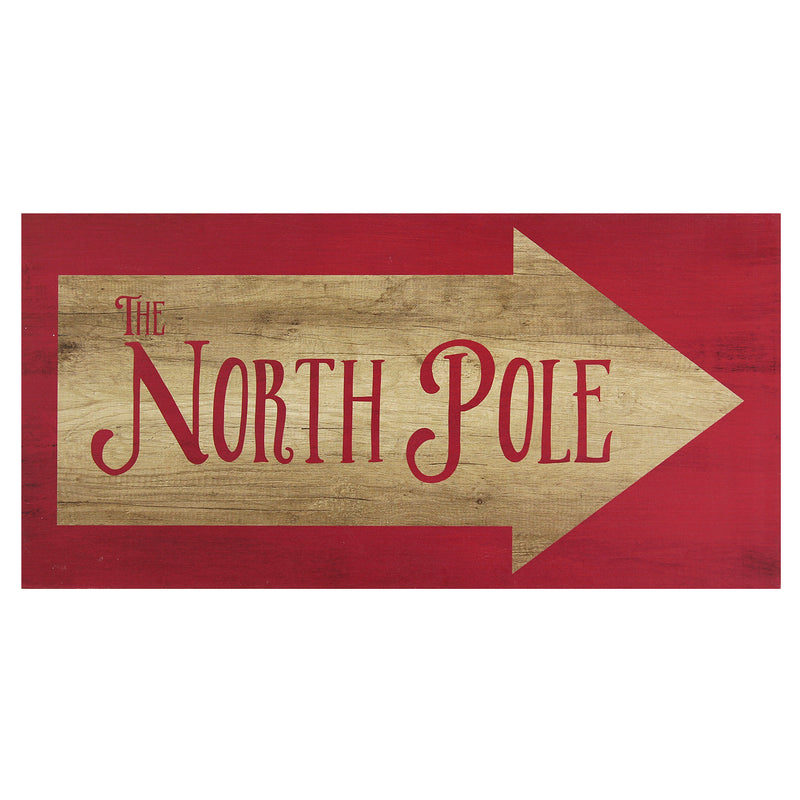 North Pole Wall Art Décor