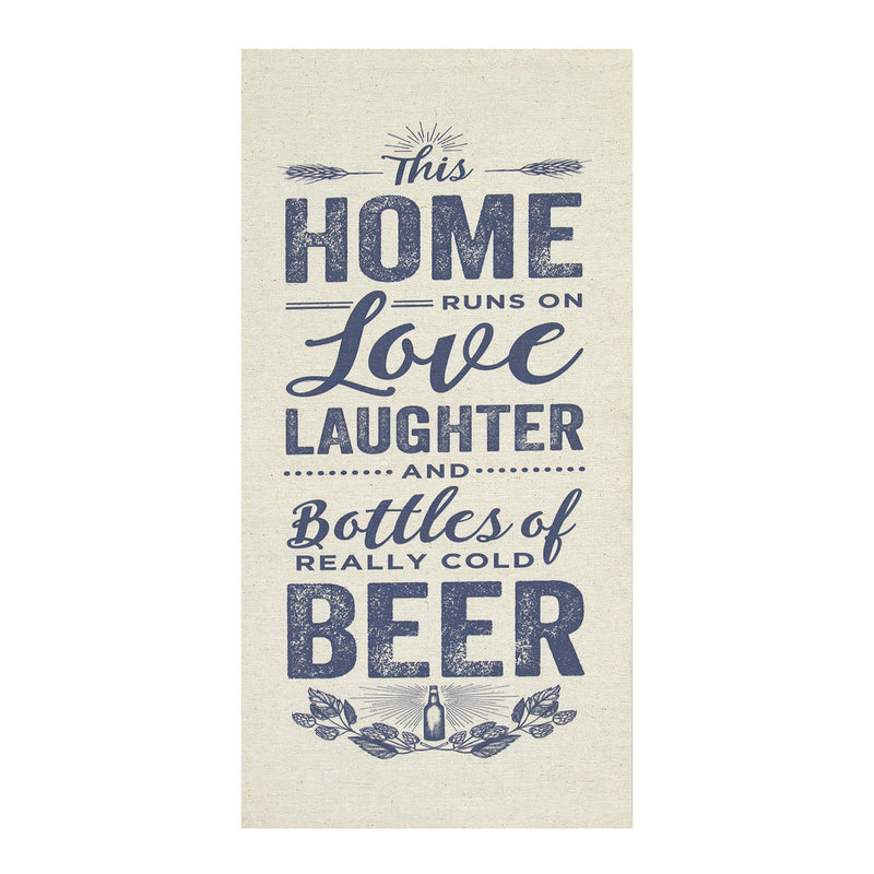 Stratton Home Décor Home, Love and Beer Wall Art