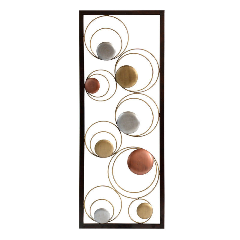Stratton Home Décor Circles Panel Wall Decor