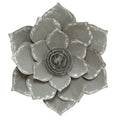 Grey Lotus Wall Décor