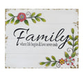Floral Family Wall Art