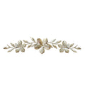 Champagne Flower Over the Door Wall Décor