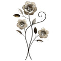 3 Headed Simple Flower Wall Décor