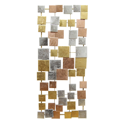 Multi Geometric Tiles Wall Décor