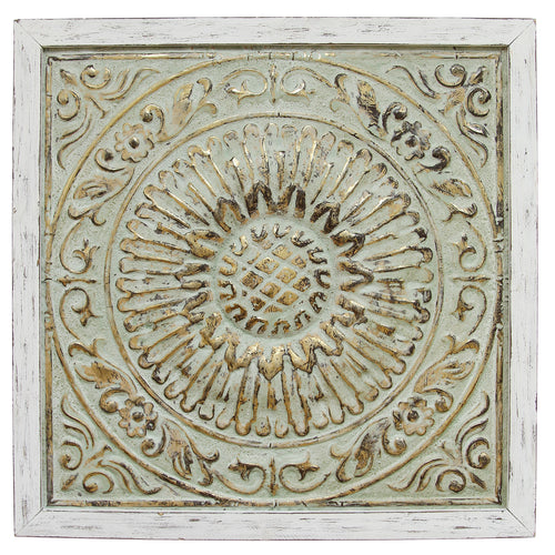 Framed Medallion Wall Decor