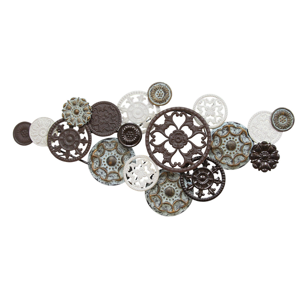 Antique medallion cluster Wall Decor – Stratton Home Decor