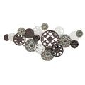 Antique medallion cluster Wall Decor