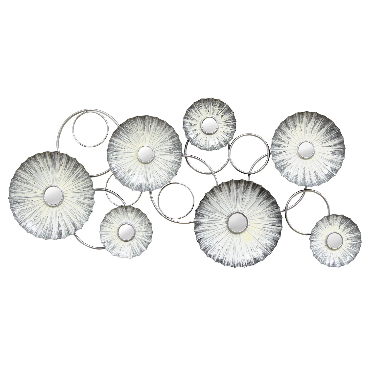 Oyster Mirrored Wall Décor – Stratton Home Decor