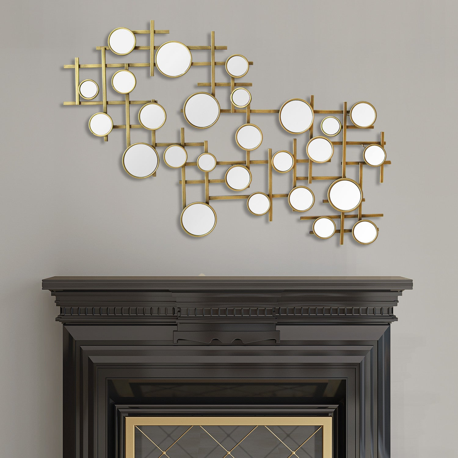 Elegant Wall Decor elegant mirror cluster wall décor – stratton home decor
